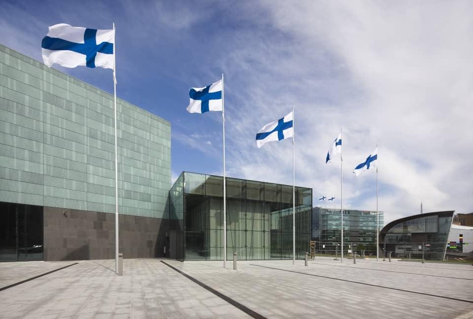 Musiikkitalo, Music House in Helsinki Finland